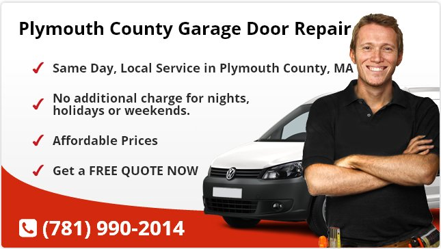 Plymouth County Garage Door Repair